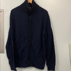 Banana Republic Men's Sweater in Navy